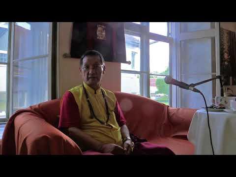 Gangteng Tulku Rinpoche ´s public talk in Tallinn 2017