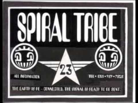 Spiral Tribe - Crystal Distortion - Digital Acid 1995 (Side A & B)