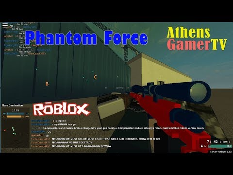 Phantom Forces # 2  Roblox : AthensGamerTV by Athens Thanakrit