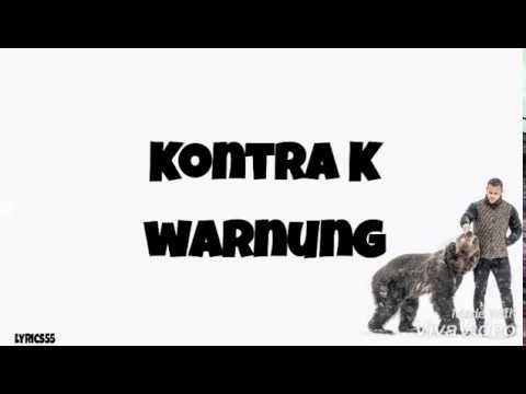 Kontra K - Warnung | Lyrics - YouTube