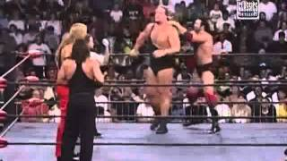 Kevin Nash & Sting (Wolfpac) vs The Giant & Scott Hall (Black & White)