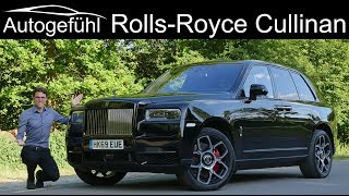 Rolls-Royce Cullinan Black Badge FULL REVIEW - is that the ultimate luxury SUV?  Autogefühl