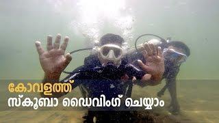 Scuba Diving in Kovalam - Kerala by Bond Ocean Safari കോവളത്ത് സ്കൂബാ ഡൈവിംഗ്