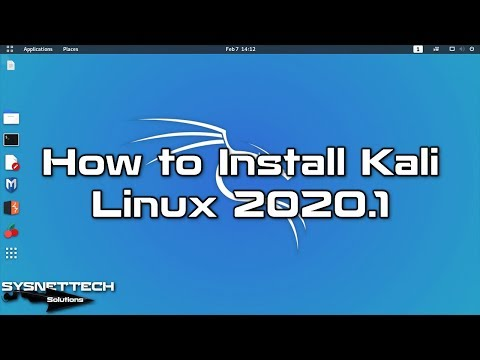 How To Install Kali Linux 2020.1 On VMware Workstation 15.5 In Windows 10   SYSNETTECH Solutions