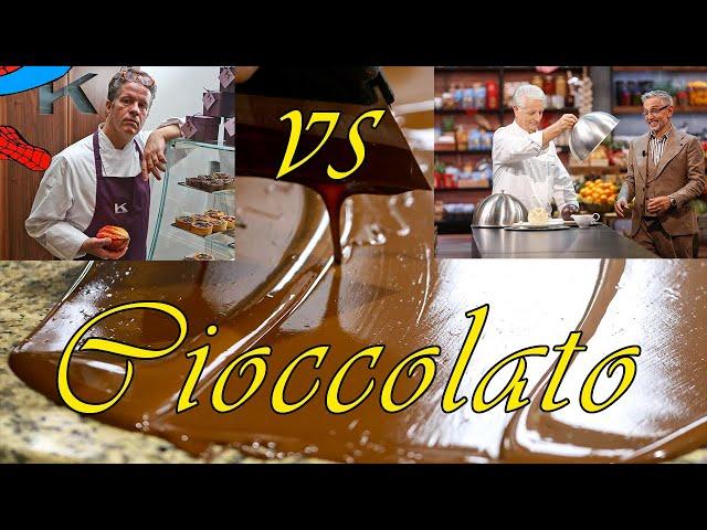 Il temperaggio del cioccolato. Massari o Knam?