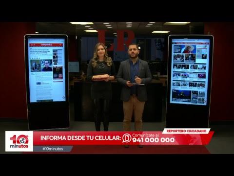 Fujimorismo se vengaría del pueblo oponiéndose al referéndum- 10 minutos – Edición Matinal