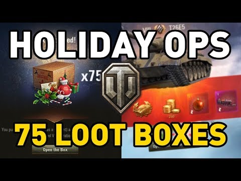 World of Tanks || HOLIDAY OPS LOOT