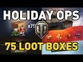World of Tanks    HOLIDAY OPS LOOT