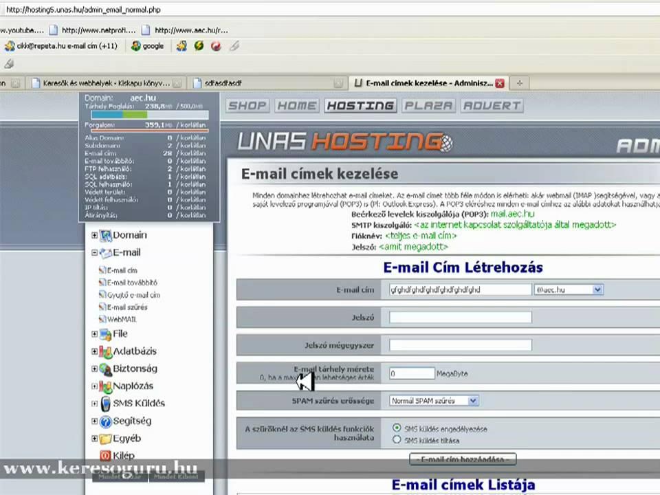 E Mail Cim