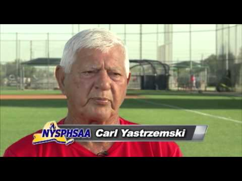 2014 NYSPHSAA Hall of Fame Inductee - Carl Yastrzemski