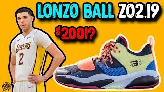 BBB Big Baller Brand Lonzo Ball ZO2.19 Initial Thoughts!