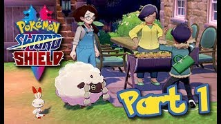 Let's Play Pokemon Sword and Shield Part 1