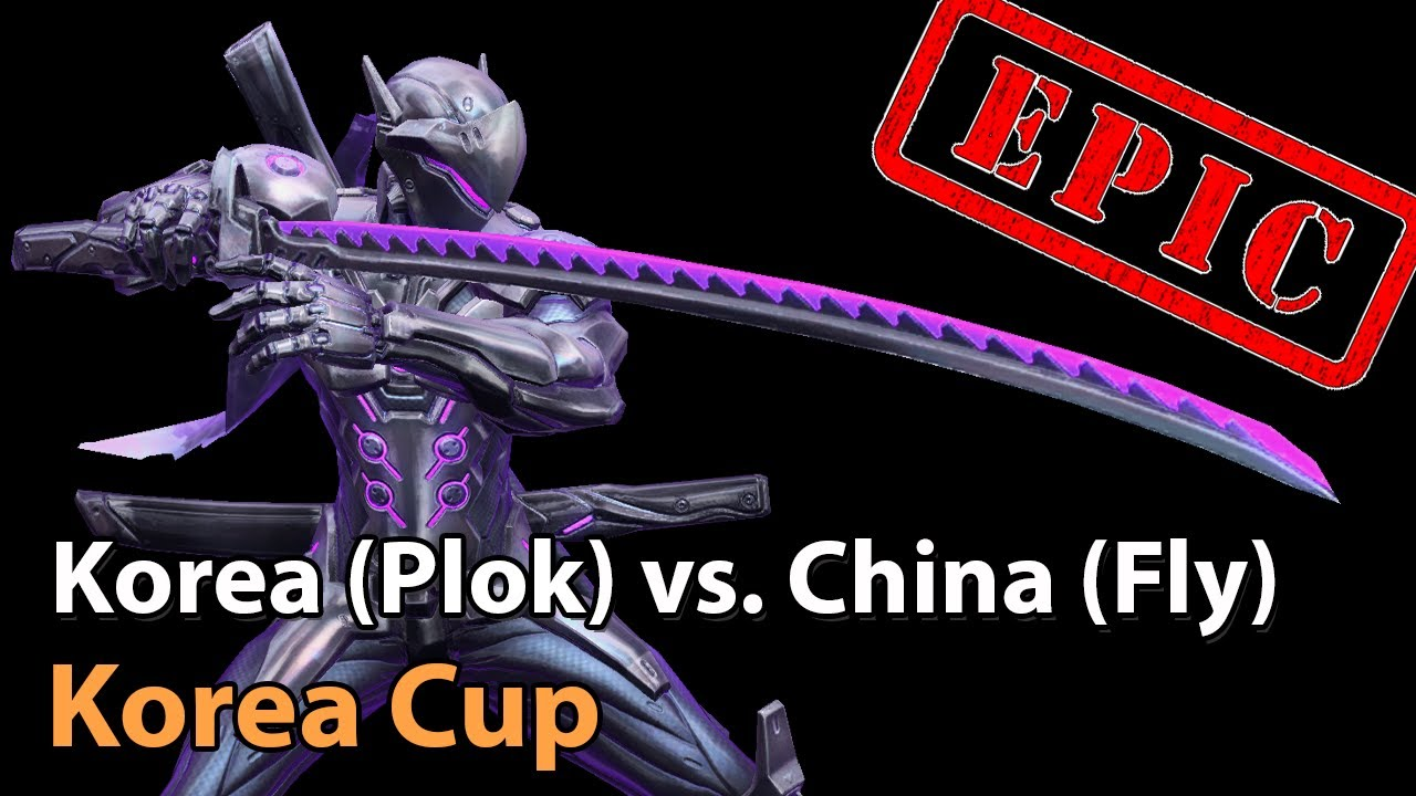 ► EPIC Korea (SexyPloks) vs. China (Fly) - Korea Cup - Heroes of the Storm Esports