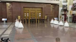 Выступление наших воспитанниц в Музее Великой Отечественной Войны на Поклонной горе