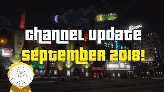 Channel Update Video September And Monthly Shoutouts!