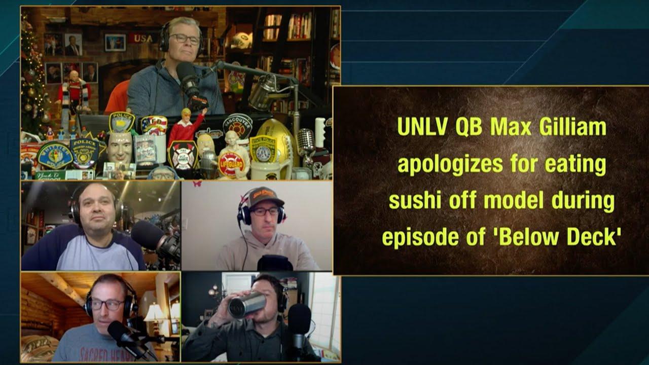 UNLV quarterback Max Gilliam apologizes for eating sushi off naked ...