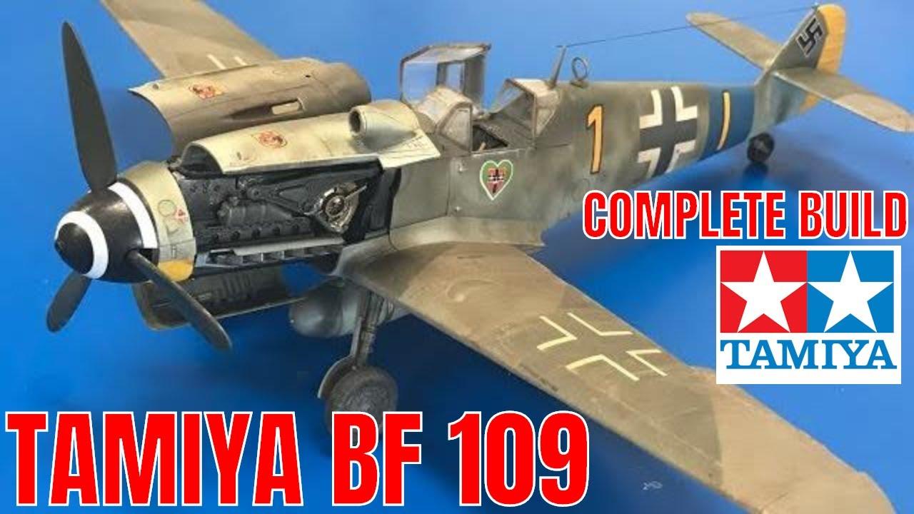 Building the new Tamiya 148 Messerschmitt BF109 G6