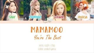 Обложка MAMAMOO 마마무 You Re The Best 넌 Is 뭔들 Han Rom Eng Color Coded Lyrics