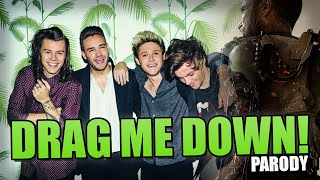 "Call of duty - one direction ""drag me down"" parody"