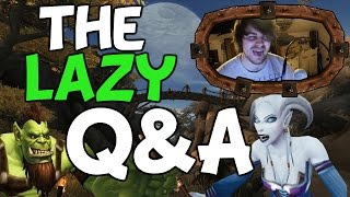 "The Lazy Q&A #1 ""Peon is that you?!!"""