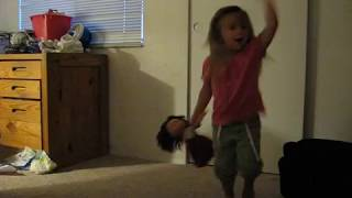 "Allie dances to ""Hi De Ho"" by K7"
