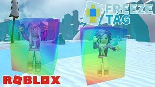 FROZEN IN RAINBOW ICE! ❄ / Roblox: Freeze Tag