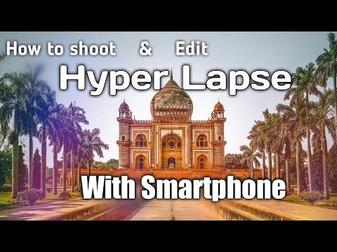 How To Make - HyperLapse & StopMotion Video On Mobile