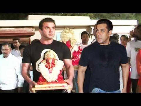 Salman Khan's Ganesh Aagman - Visarjan...