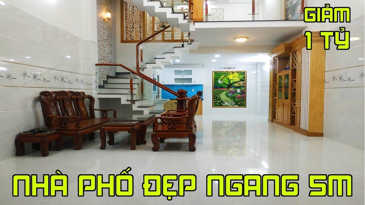 HÀNG HOT Nhà phố Gò Vấp đường Nguyễn Oanh P6 giảm giá 1 tỷ cần tiền bán gấp mua ngay kẻo lỡ