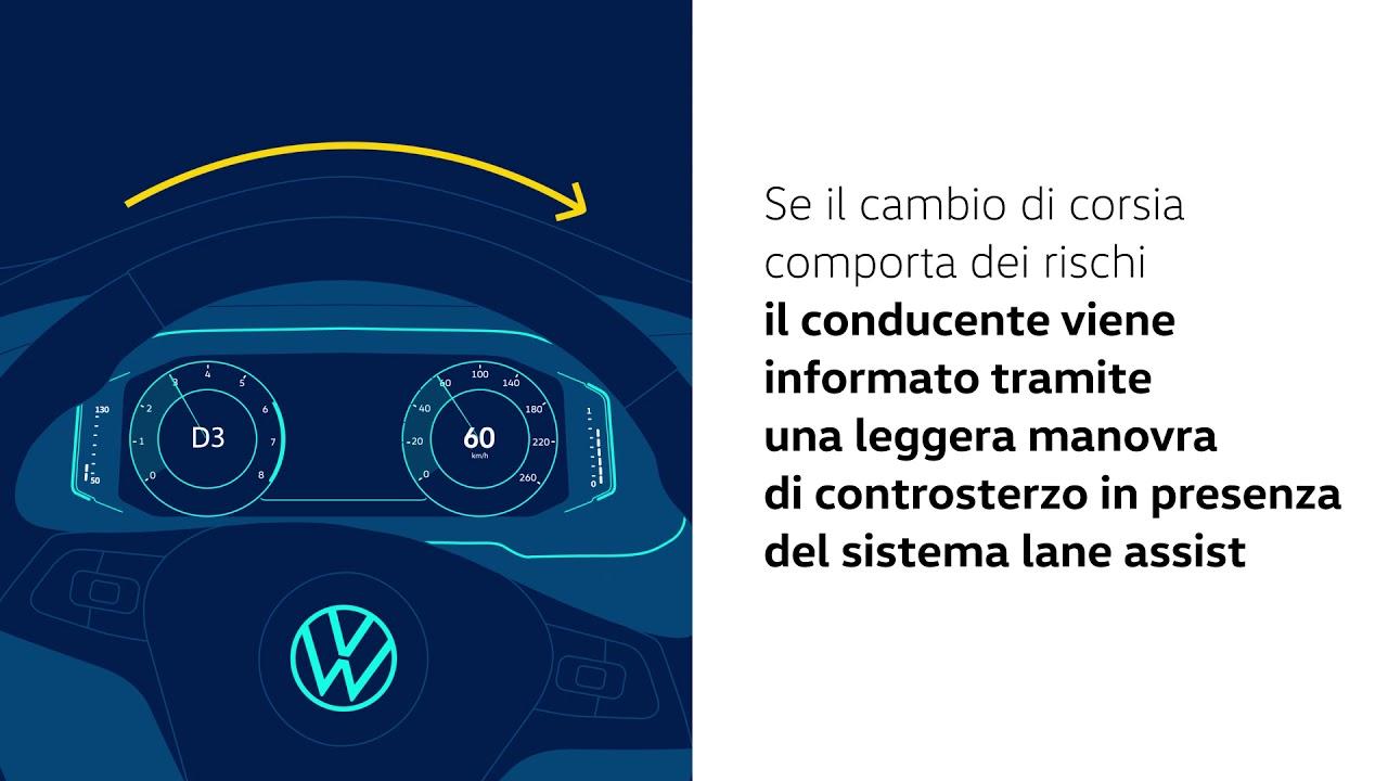 Blind Spot Detection e Rear Traffic Alert - T-Cross