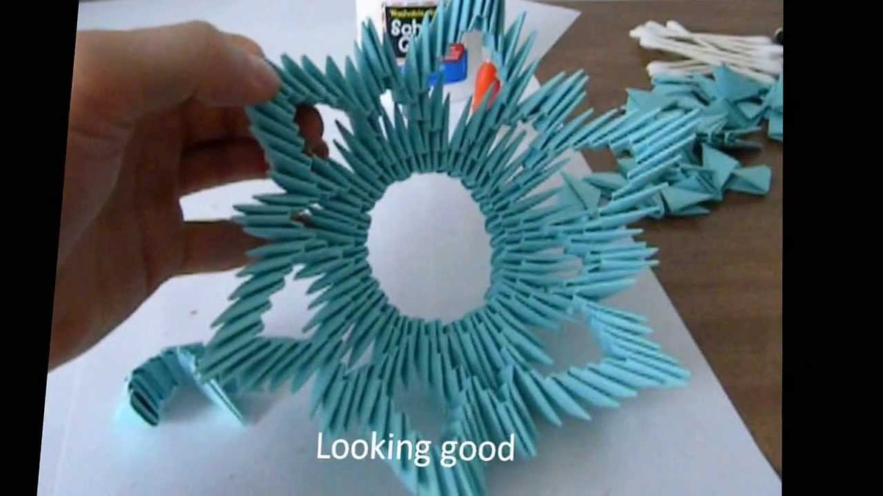 3d origami vase tutorial frame 1 youtube floridaeventfo Image collections