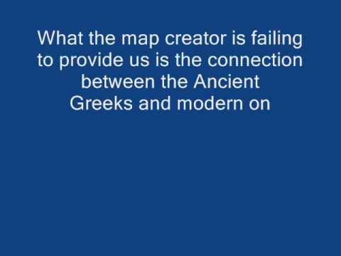"""REVIEWING AN """"""""ANCIENT""""""""  MAP.(Part I)"""