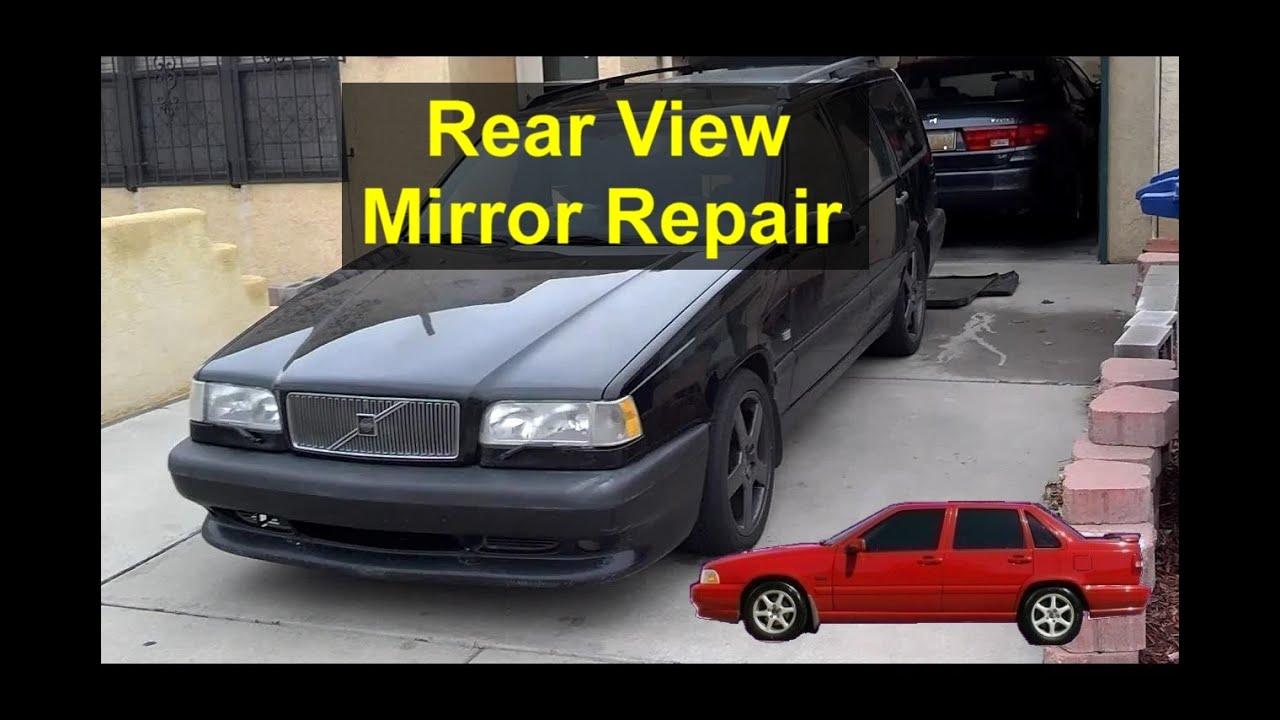 Volvo rear view mirror problems