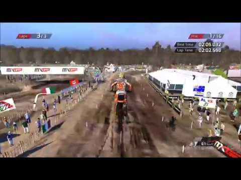 MXGP - The Official Motocross Videogame - Valkenswaard Holland Gameplay [HD]