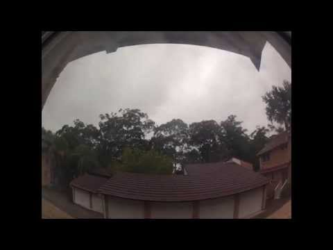 Today's weather from my place in the burbs in Sydney, NSW, Australia (04/04/2013)