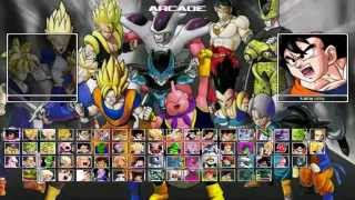 Dragon Ball Z Raging Blast 2 MUGEN full Game PC تحميل دراغون بول للحاسوب