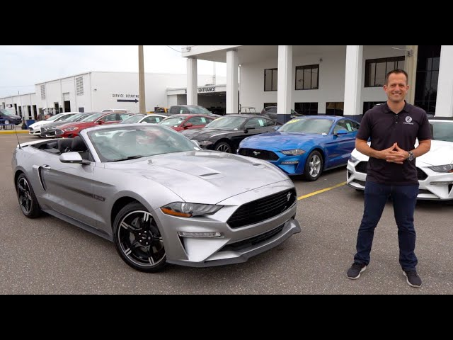 Is the 2020 Ford Mustang GT California Special the BEST convertible Muscle Car?