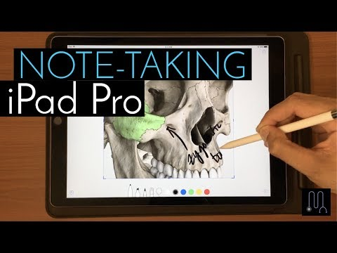 Taking Notes on my iPad Pro in Medical School & Residency