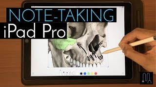 iOS 11 iPad Pro Note-Taking [New Features + Evernote vs OneNote vs Apple Notes]