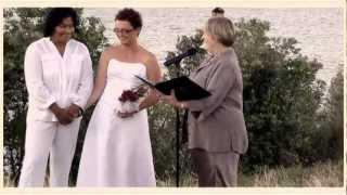 T & Les Civil Union Wedding PT4