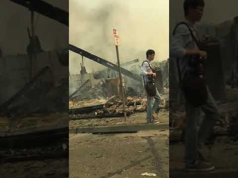 Incendio en Santa Rosa ca
