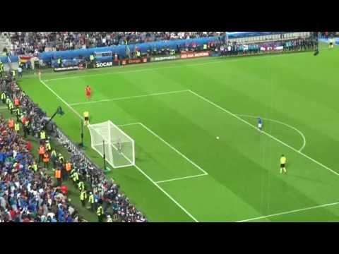 Simone Zaza penalty against Germany EURO 2016