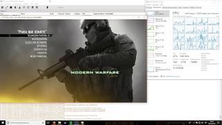 Call of Duty: Modern Warfare 2 - Rpcs3 0.0.5-6496 - Ryzen 7 1800x @ 3.6Ghz