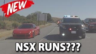 CHP Blurped us on the Supercar Rally + NSX RUNS [4K]