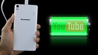 Lenovo K3 Note - Battery Life (watching youtube videos) GearBest.com