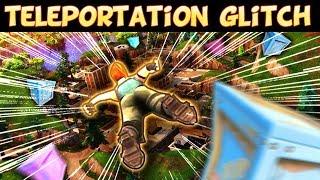 *INSANE* TELEPORTATION GLITCH IN FORTNITE BATTLE ROYALE | Fortnite Funny Moments #6 (Battle Royale)