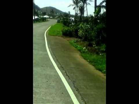 Fr.Manila to..BALANGIGA E. SAMAR road to QUENAPONDAN