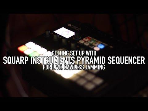 Squarp Pyramid: Live Jamming Set-Up Tutorial