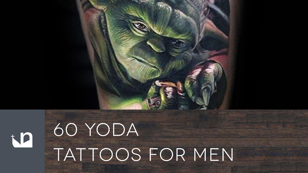 60 Yoda Tattoo Designs For Men – Jedi Master Ink Ideas