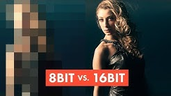 VISUAL BREAKDOWN: 8-bit vs 16-bit images